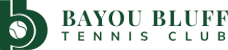 Bayou Bluff Tennis Court Reservations site